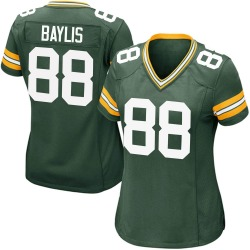 Evan Baylis Green Bay Packers Women's Game Team Color Nike Jersey - Green