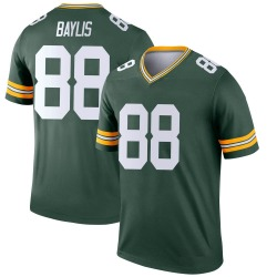 Evan Baylis Green Bay Packers Youth Legend Nike Jersey - Green