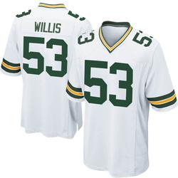 Gerald Willis III Green Bay Packers Men's Game Nike Jersey - White