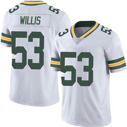 Gerald Willis III Green Bay Packers Men's Limited Vapor Untouchable Nike Jersey - White