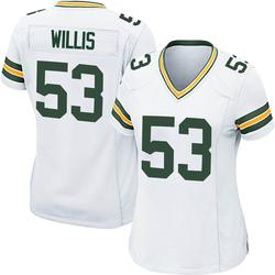 Gerald Willis III Green Bay Packers Women's Game Nike Jersey - White
