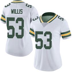 Gerald Willis III Green Bay Packers Women's Limited Vapor Untouchable Nike Jersey - White