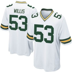 Gerald Willis III Green Bay Packers Youth Game Nike Jersey - White