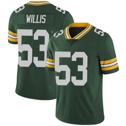 Gerald Willis III Green Bay Packers Youth Limited Team Color Vapor Untouchable Nike Jersey - Green