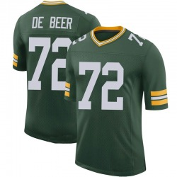 Gerhard de Beer Green Bay Packers Men's Limited 100th Vapor Nike Jersey - Green