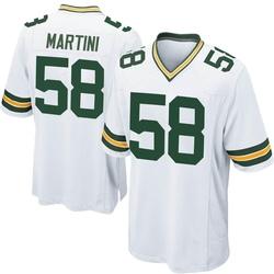 Greer Martini Green Bay Packers Men's Game Nike Jersey - White