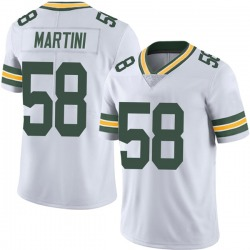 Greer Martini Green Bay Packers Men's Limited Vapor Untouchable Nike Jersey - White