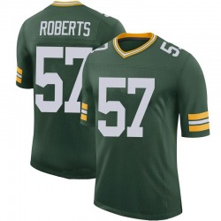 Greg Roberts Green Bay Packers Men's Limited 100th Vapor Nike Jersey - Green