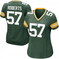 Greg Roberts Green Bay Packers Women's Game Team Color Nike Jersey - Green