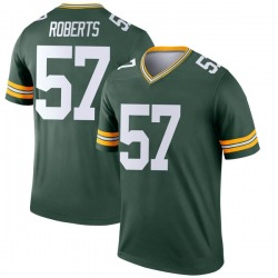 Greg Roberts Green Bay Packers Youth Legend Nike Jersey - Green