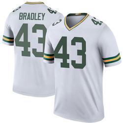 Hunter Bradley Green Bay Packers Men's Color Rush Legend Nike Jersey - White