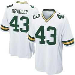 Hunter Bradley Green Bay Packers Men's Game Nike Jersey - White