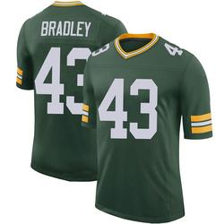 Hunter Bradley Green Bay Packers Men's Limited 100th Vapor Nike Jersey - Green