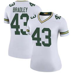 Hunter Bradley Green Bay Packers Women's Color Rush Legend Nike Jersey - White