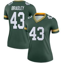 Hunter Bradley Green Bay Packers Women's Legend Nike Jersey - Green
