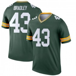 Hunter Bradley Green Bay Packers Youth Legend Nike Jersey - Green
