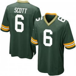JK Scott Green Bay Packers Youth Game Team Color Nike Jersey - Green
