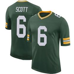 JK Scott Green Bay Packers Youth Limited 100th Vapor Nike Jersey - Green