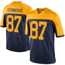Jace Sternberger Green Bay Packers Men's Game Alternate Nike Jersey - Navy