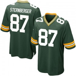 Jace Sternberger Green Bay Packers Men's Game Team Color Nike Jersey - Green