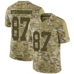 Jace Sternberger Green Bay Packers Youth Limited 2018 Salute to Service Nike Jersey - Camo