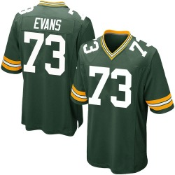 Jahri Evans Green Bay Packers Men's Game Team Color Nike Jersey - Green