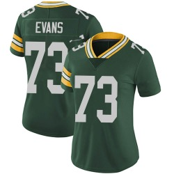 Jahri Evans Green Bay Packers Women's Limited Team Color Vapor Untouchable Nike Jersey - Green