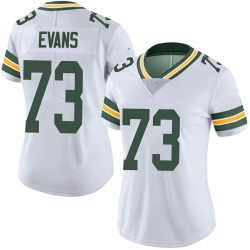 Jahri Evans Green Bay Packers Women's Limited Vapor Untouchable Nike Jersey - White