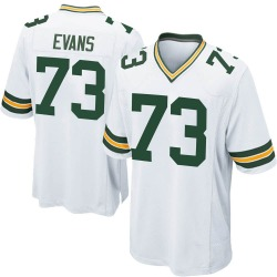 Jahri Evans Green Bay Packers Youth Game Nike Jersey - White
