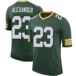 Jaire Alexander Green Bay Packers Men's Limited 100th Vapor Nike Jersey - Green