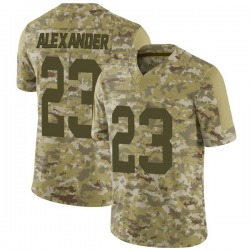Jaire Alexander Green Bay Packers Men's Limited 2018 Salute to Service Nike Jersey - Camo