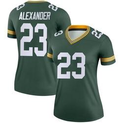 Jaire Alexander Green Bay Packers Women's Legend Nike Jersey - Green