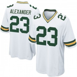Jaire Alexander Green Bay Packers Youth Game Nike Jersey - White