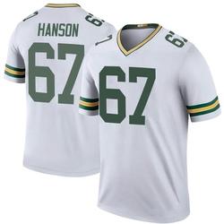 Jake Hanson Green Bay Packers Men's Color Rush Legend Nike Jersey - White