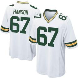 Jake Hanson Green Bay Packers Men's Game Nike Jersey - White