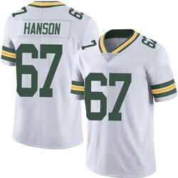 Jake Hanson Green Bay Packers Men's Limited Vapor Untouchable Nike Jersey - White