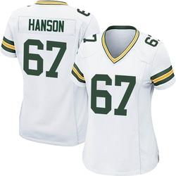 Jake Hanson Green Bay Packers Women's Game Nike Jersey - White