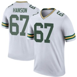 Jake Hanson Green Bay Packers Youth Color Rush Legend Nike Jersey - White