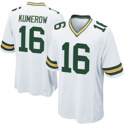 Jake Kumerow Green Bay Packers Men's Game Nike Jersey - White