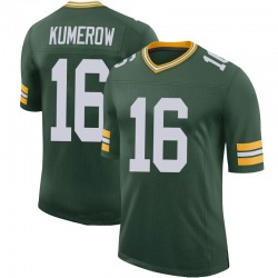 Jake Kumerow Green Bay Packers Men's Limited 100th Vapor Nike Jersey - Green