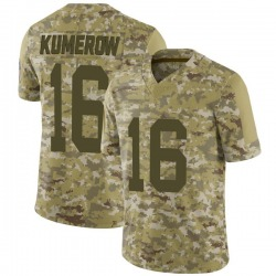 Jake Kumerow Green Bay Packers Men's Limited 2018 Salute to Service Jersey - Camo