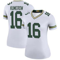 Jake Kumerow Green Bay Packers Women's Color Rush Legend Nike Jersey - White