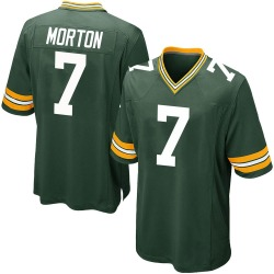 Jalen Morton Green Bay Packers Men's Game Team Color Nike Jersey - Green