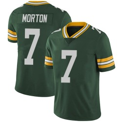 Jalen Morton Green Bay Packers Men's Limited Team Color Vapor Untouchable Nike Jersey - Green
