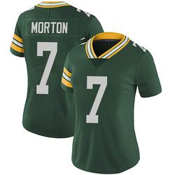 Jalen Morton Green Bay Packers Women's Limited Team Color Vapor Untouchable Nike Jersey - Green