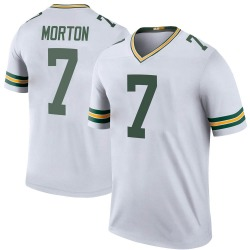 Jalen Morton Green Bay Packers Youth Color Rush Legend Nike Jersey - White