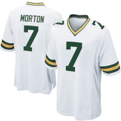Jalen Morton Green Bay Packers Youth Game Nike Jersey - White
