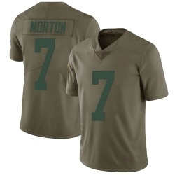 Jalen Morton Green Bay Packers Youth Limited Salute to Service Nike Jersey - Green