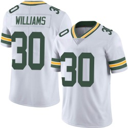 Jamaal Williams Green Bay Packers Men's Limited Vapor Untouchable Nike Jersey - White