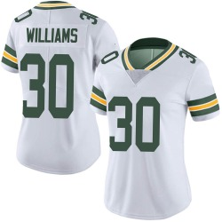 Jamaal Williams Green Bay Packers Women's Limited Vapor Untouchable Nike Jersey - White